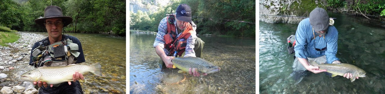 Trophies flyfishing serbia